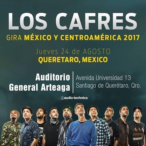 Los Cafres en Querétaro 2017