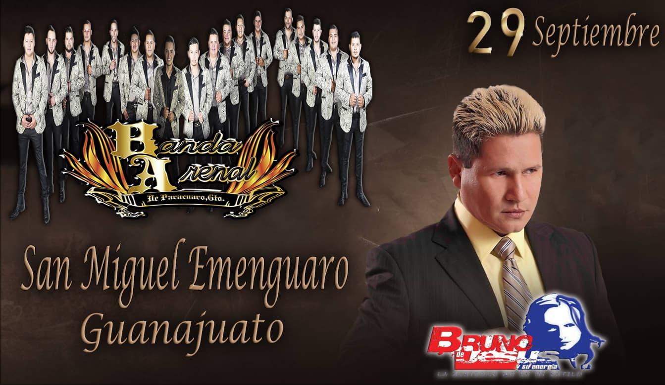 Banda Arenal / Bruno De Jesús En San Miguel Emenguaro, Gto